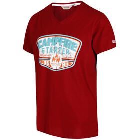 Regatta Calton t-shirt Heren rood